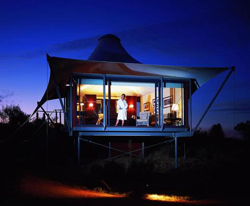 Longitude 131 Accommodation Tent