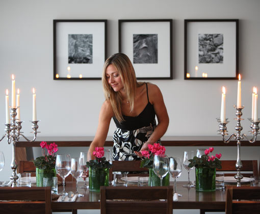 Rees Guestroom Dining